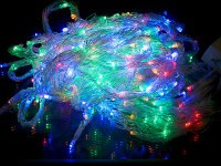 "Гирлянда электрическая ""занавес"" 200x150 см, разноцветная (арт. n8631020), Monte Christmas"