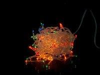 """Гирлянда электрическая """"занавес"""" 96x40 см, разноцветная, Monte Christmas"""