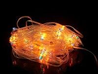 """Гирлянда электрическая """"сетка"""" 140x206 см, разноцветная, Monte Christmas"""