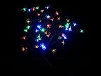 Декоративное дерево с подсветкой, 45 см (48 ламп, разноцветный свет), Monte Christmas