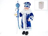 """Кукла декоративная, фольклорная """"дед мороз"""", 24x14x49 см (с декоративными стразами), Euphorie"""