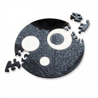 """Пазлы  """"black&white. кольца"""" (диаметр 13 см), Curiosi"""