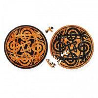 "Круглые пазлы  ""double. собаки"" (диаметр 18,5 см), Curiosi"