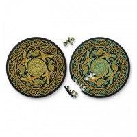 "Круглые пазлы  ""double. дракон"" (диаметр 18,5 см), Curiosi"
