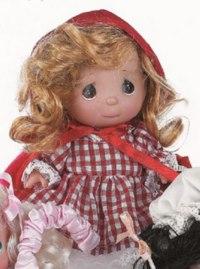 "Кукла ""красная шапочка"", 14 см, Precious Moments"