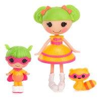 Кукла lalaloopsy mini, супергерой с сестрёнкой, MGA Entertainment