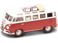 """Модель автомобиля """"1962 фольксваген микроавтобус"""", открывается крыша, Yat Ming"""
