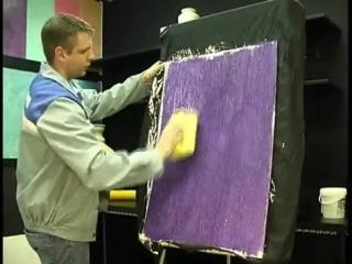 Мастер-класс по нанесению декоративной штукатурки Десан Браш (Патина, Вельвет)