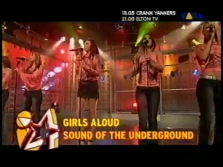 Girls Aloud - Sound Of The Underground - 2003 Germany