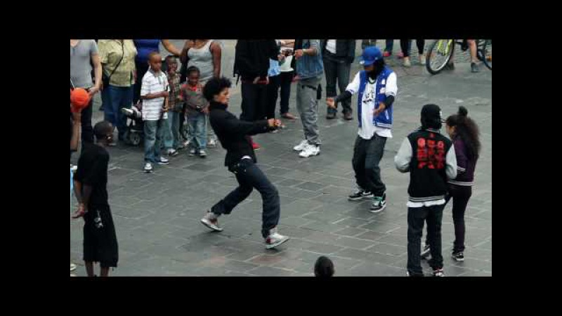 STREET BATTLE Les Twins VS. Bones The MachinePee Fly VS. LauraBoubou | YAK FILMS