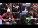NAMM 2013 - Hadrien Feraud, Frank Gambale, Phil Upchurch Nicolas Viccaro - Blues Jam
