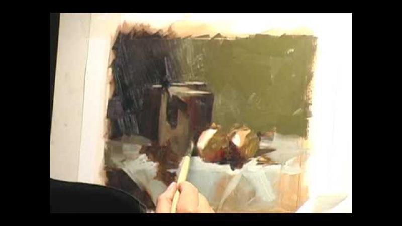 Qiang Huang painting still life