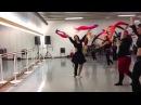 Fériel Rodriguez french bellydancer (Nantes) Choréo workshop Paris 'Fanveils 2014