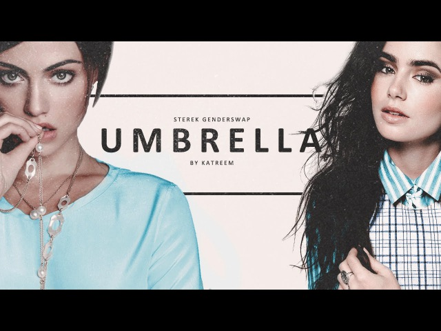 Umbrella | stilesderek [Genderswap/AU]