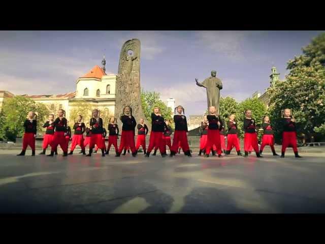 Флешмоб Не здолати Україну! дитячої студії балету Життя- СМАЙЛИКИ. Офіційна версія.