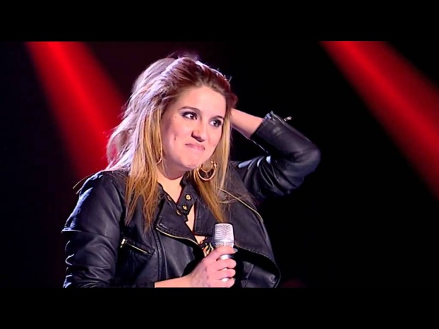 Gabriela Pina - Highway To Hell ACDC - The Voice Portugal - Provas Cegas - Season 2
