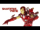 Hot Toys Iron Man Mark VII 7 Marvels The Avengers Movie 1:6 Scale Action Figure Review