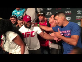 American Top Team celebrates at UFC Fight Night 70