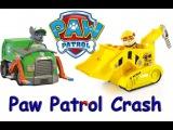 Щенячий патруль Бой на игрушечных машинках спасателей  Paw Patrol Crash