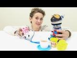 Эмбер лечит Мура. Играем в доктора. Видео с игрушками для детей.