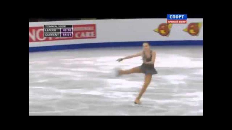 Аделина Сотникова Сочи 2014 олимпиада Произвольная програма