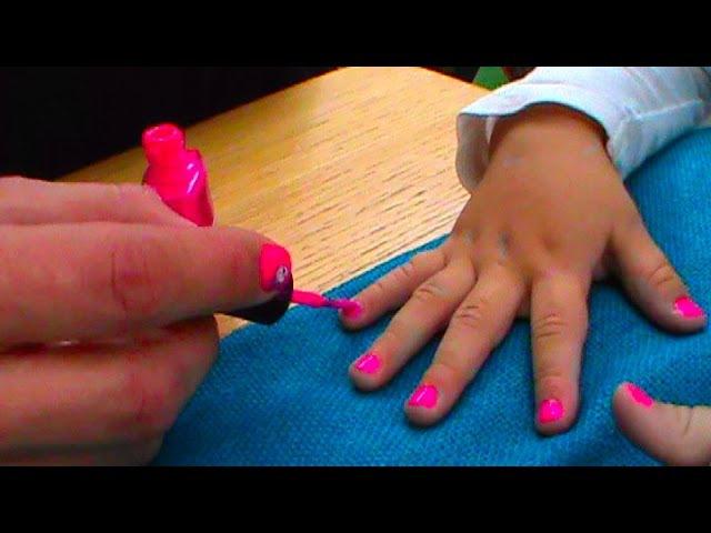 Красим ногти первый раз в жизни выбираем цвет лака красота Malować paznokcie kolor paznokci piękna