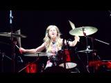 Юлия Савичева - Hard drums heartbeat (Барабаны Юлии Савичевой. Северодвинск. 21 мая 2013г.)
