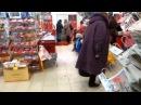 Чокнутая бабка в магазине