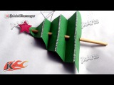 HOW TO: Make Christmas Tree (Easy craft for Kids) - JK Arts 454