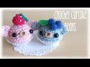 DIY Crochet Kawaii Cupcake Bears Amigurumi Tutorial
