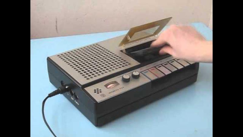 Кассетный магнитофон Электроника-324 (Elektronika-324 Tape Recorder)