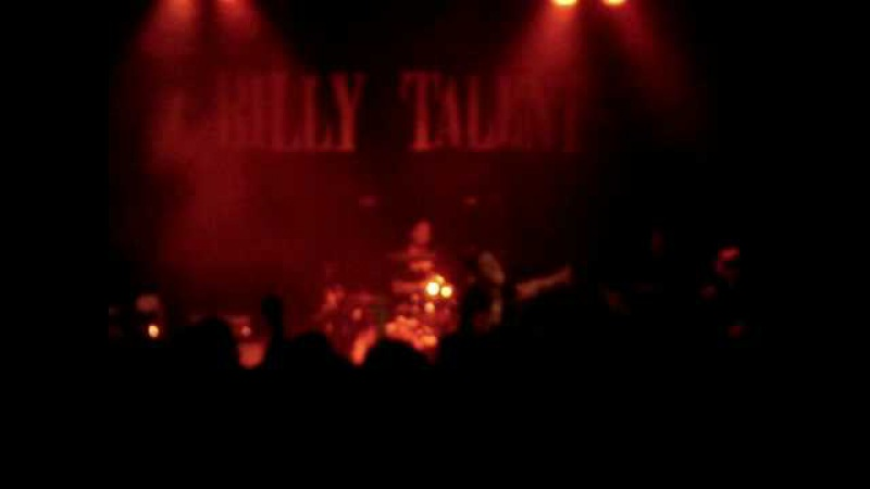 Billy Talent Sydney 24 February 2009 'The Ex' feat Darrin Pfeiffer behind the kit