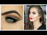 Classic Holiday Makeup Tutorial  DRUGSTORE Neutral Glam