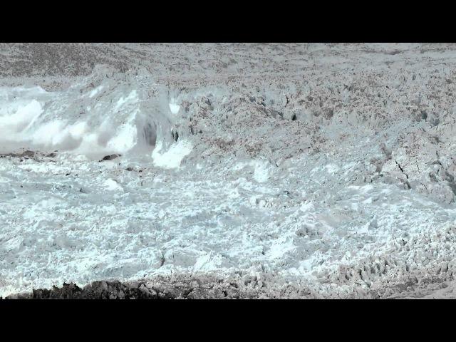 Зрелище В Гренланандии - движение ледников