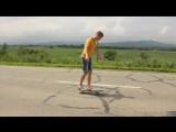 Ахуенный трюк скейтера
