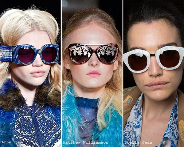 Модные солнцезащитные очки 2018-2019 фотообзор ― Лучшие женские модели! Правила выбора оправы по форме лица