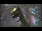 мульт о динозаврике.(3д анаглиф кр зел)