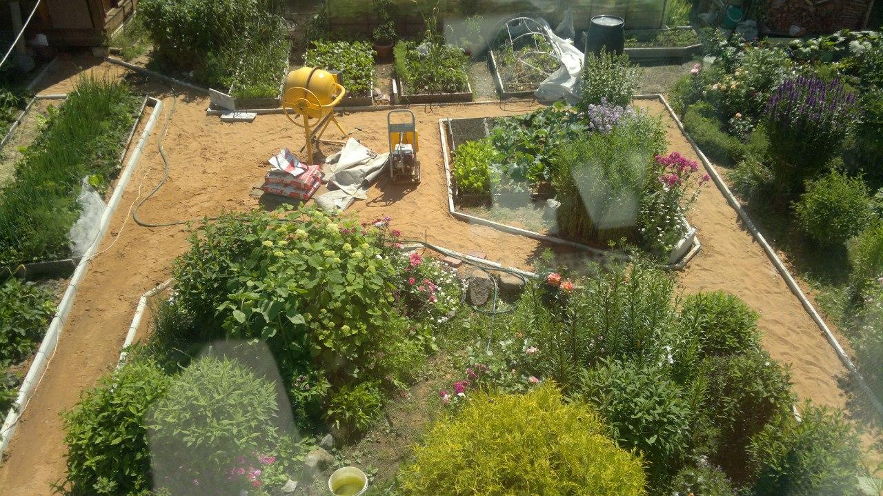 Сад и огород на 6 сотках фото