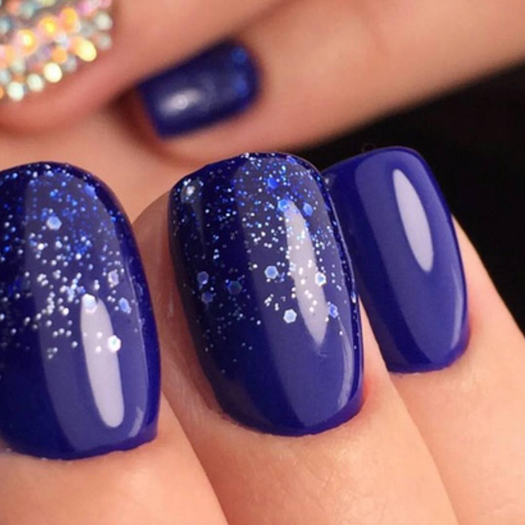 Как сделать на блики на ногтях