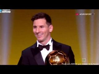 Церемония вручения Золотого мяча FIFA Ballon dOr  2015⁄2016 ФИФА ⁄Лионель Месси⁄Lionel Messi