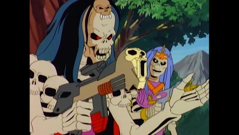Воины-Скелеты 12 серия из 13 / Skeleton Warriors Episode 12 (1993 - 1994) Столкновение и последствия (ч.1)