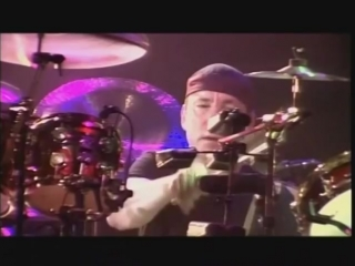 Rush neil peart- awsome drum solo live in rio solo!!!
