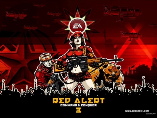 Red Alert 3 Uprising music - Soviet March 2