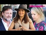Russell Crowe, Salma Hayek & Kristen Wiig Attend Ridley Scott's Walk Of Fame Ceremony 11.5.15