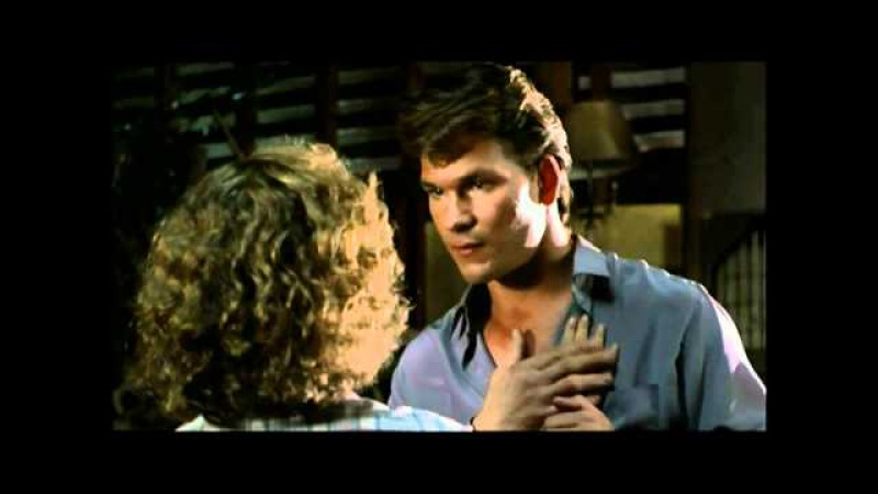 Dirty Dancing - Patrick Swayze and Jennifer Grey - Hungry Eyes