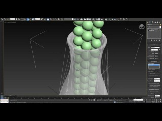 Filling a container with marbles - Tutorial - 3dsmax 2013 MassFX