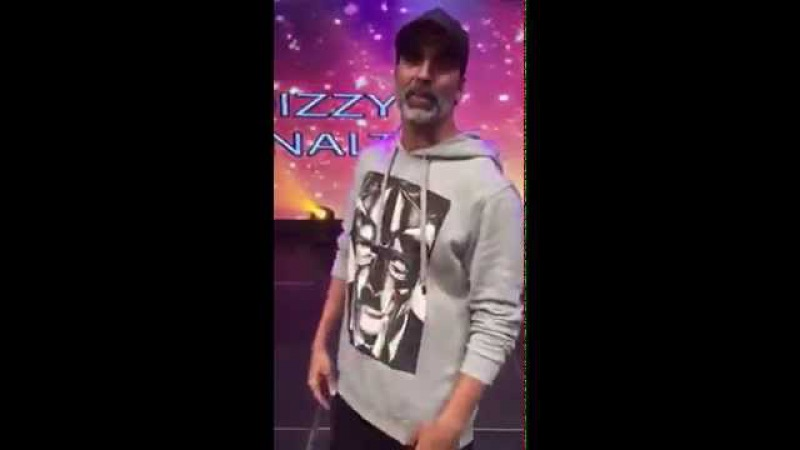 Akshay Kumar takes the Dizzy Goals Challenge
