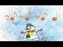 снеговики ритм шумовой оркестр Lectura Rítmica