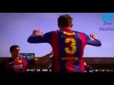 Gerard Piqué 2015-16 /  Protection Forever & Skills / FC Barcelona