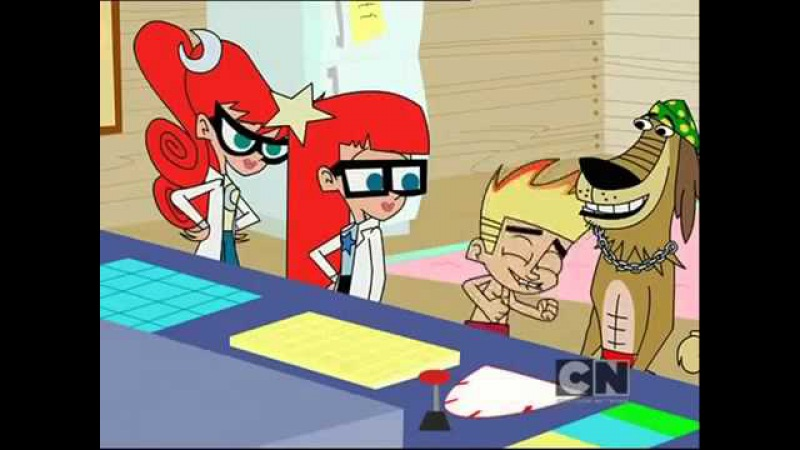 Джонни Тест Johnny Test S04 ep19 Sunshine Malibu Johnny Johnnycicle